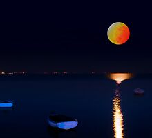 Altona Moonrise by Kris Montgomery