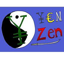 Binary Options News Cartoon - Zen Yen Photographic Print