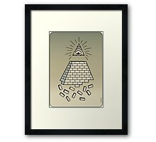 Failluminati End of NWO Framed Print