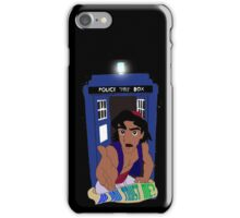Doctor Who Aladdin mashup - Do you trust me? iPhone Case/Skin