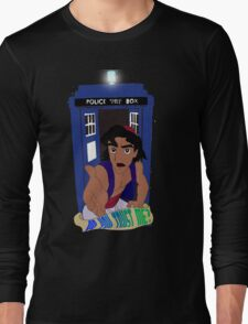 Doctor Who Aladdin mashup - Do you trust me? Long Sleeve T-Shirt