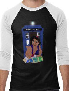 Doctor Who Aladdin mashup - Do you trust me? Men's Baseball ¾ T-Shirt