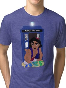 Doctor Who Aladdin mashup - Do you trust me? Tri-blend T-Shirt