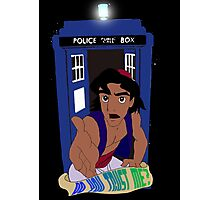 Doctor Who Aladdin mashup - Do you trust me? Photographic Print