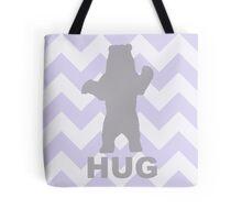 Bear Hug - Purple Tote Bag