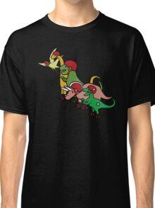 Roller Derby Dinosaurs Classic T-Shirt