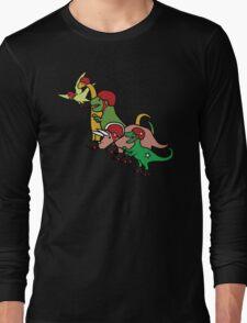 Roller Derby Dinosaurs Long Sleeve T-Shirt