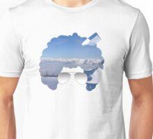 Innsbruck in Afro Unisex T-Shirt