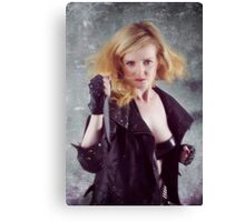 Klara McDonnell knife attack Canvas Print