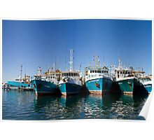 Fishing Boats - Fremantle Poster