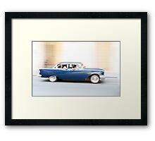 Drive by Havana. Framed Print