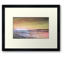 Dawn breaks over the Point Framed Print