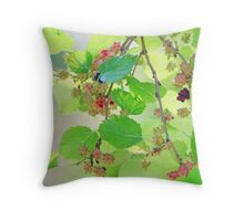 Mulberries Throw Pillow