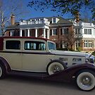 1933 LaSalle 7 Passenger Touring Car by TeeMack