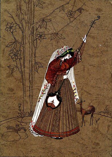Mughal Miniature by mubesher