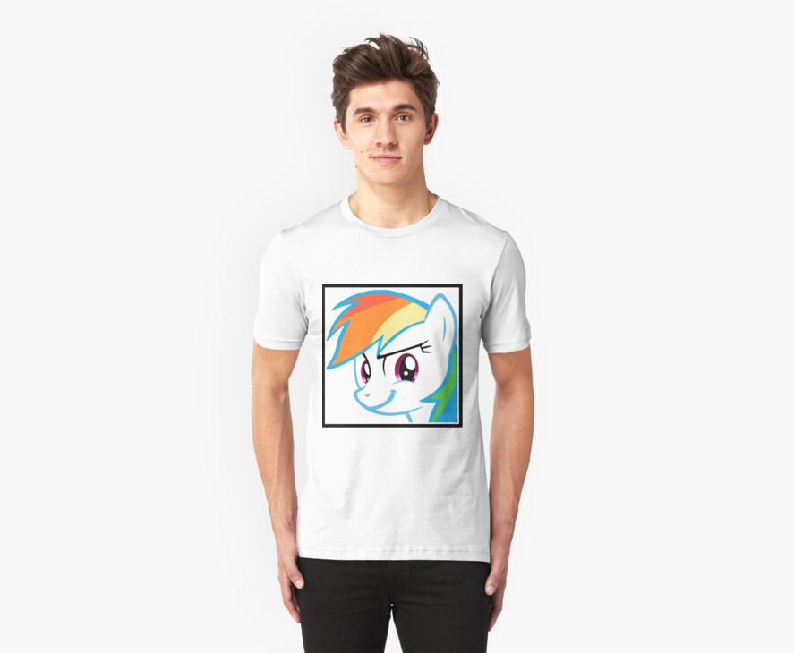 Rainbow Dash Challenge face by danspy1994