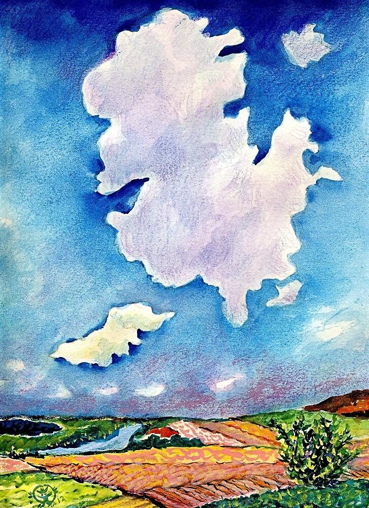 The Huge Cloud by ivDAnu