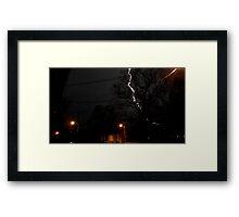 Storm 002 Framed Print