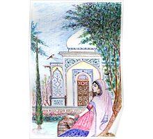 Mughal Miniature 02 Poster