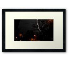 Storm 007 Framed Print
