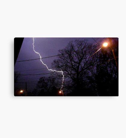 Storm 009 Canvas Print
