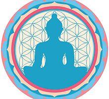 Meditating Buddha by GalacticMantra