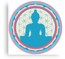 Meditating Buddha Canvas Print