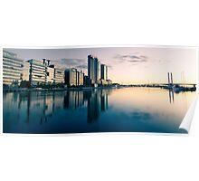 Melbourne Docklands Sunset 2 Poster