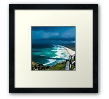 Storm Over Cape Byron Framed Print