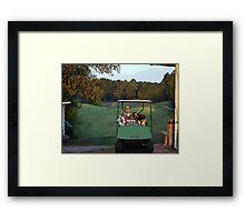 Alpine Bay Golf Club Framed Print
