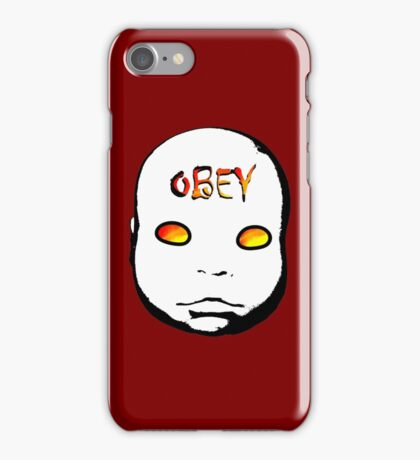 Obey the Creepy Doll iphone iPhone Case/Skin