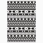 AZTEC PRINT TEE/IPHONE CASE by meadythebrave