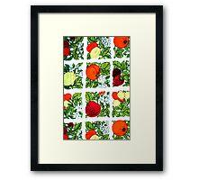 Fifties Fruit Framed Print