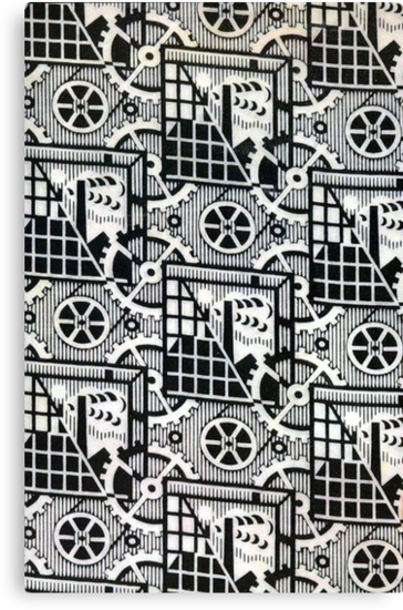 B&W Soviet Design by BettyBanana