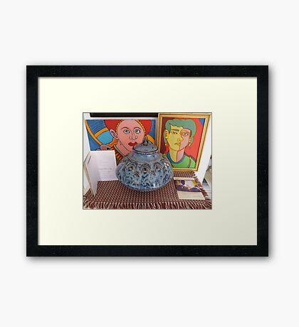 doug,s gift  Framed Print