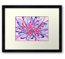 Prism 3D Bloom  Framed Print