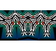 """""""The Animals Came Four by Four"""" 2010 by L. R. Emerson II from the Upside-Down Art Movement; Upsidedownism, Topsy Turvy Art, Ambigram Art, or Masg Art  Photographic Print"""