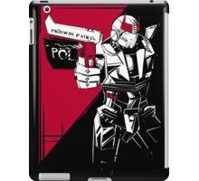 Prowl noir iPad Case/Skin