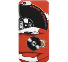 Lil' Pete's Vinyl Fight iPhone Case/Skin
