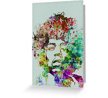 Jimmy Hendrix Greeting Card