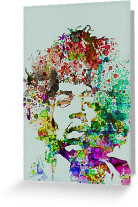 Jimmy Hendrix by NAXART