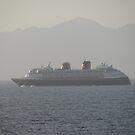The Cruise is leaving - El Crucero se va by PtoVallartaMex