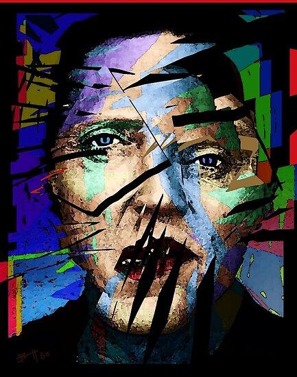 Christopher Walken. Cracked Actor. by brett66