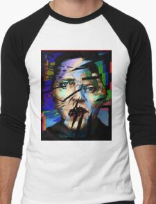 Christopher Walken. Cracked Actor. Men's Baseball ¾ T-Shirt