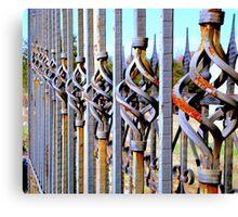 Rusty Fence  ^ Canvas Print
