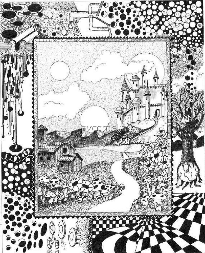 Fantasy Land Surrealism by pvcornelis