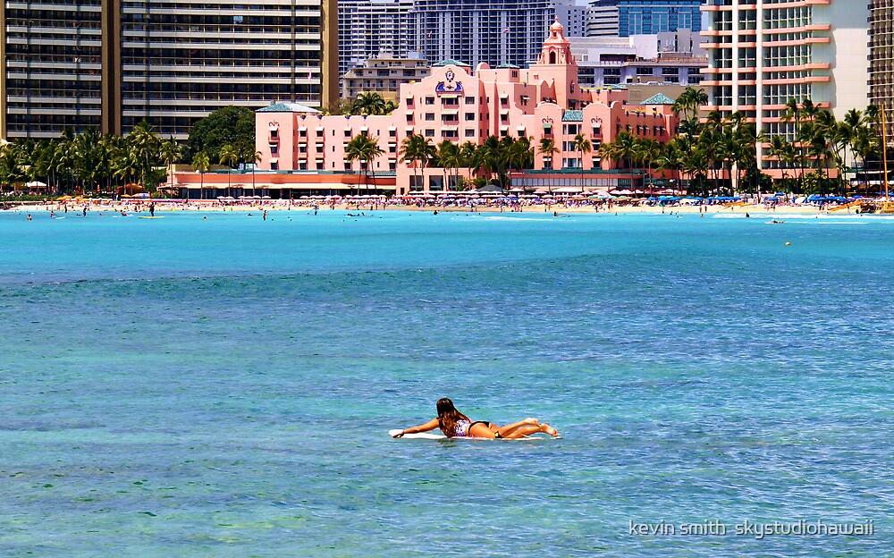The Royal Hawaiian Hotel  by kevin smith  skystudiohawaii