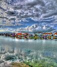 Widewater Lagoon Shoreham - HDR by Colin  Williams Photography
