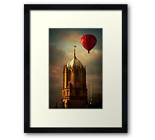 Red Balloon Framed Print