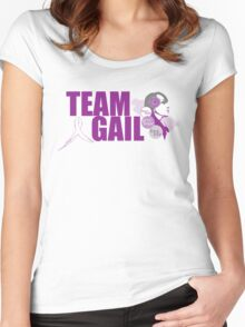 TeamGail: Faith.Hope.Life Women's Fitted Scoop T-Shirt